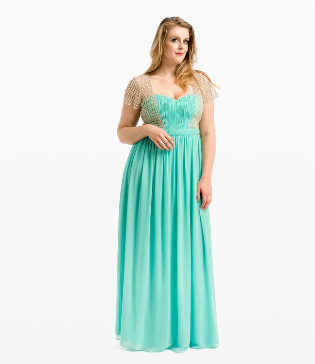 NISSA Evening dress with corset