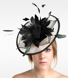 FASHION EMERGENCY Elegant Headwear Fascinator