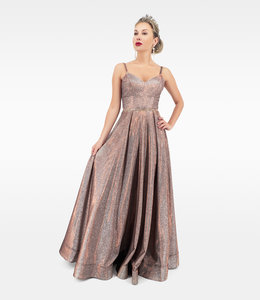 Andrea & Leo Couture Glitter Ball Dress