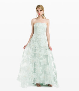 LANA CAPRINA Strapless Princess Dress