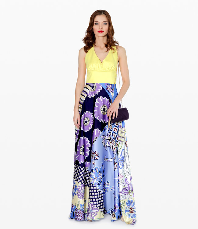 ALESSANDO LEGORA Printed Summer Dress