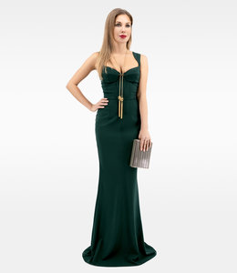 ELISABETTA FRANCHI Mermaid Evening Dress