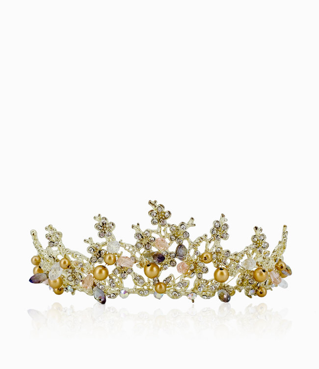HAND MADE Luxury Crystal Crown