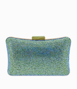 HAND MADE Green Wedding Clutch
