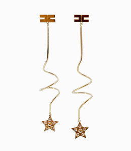 ELISABETTA FRANCHI Pendant earrings with Star
