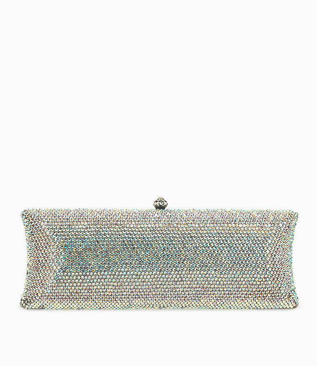 HAND MADE White Silver Evening Clutch
