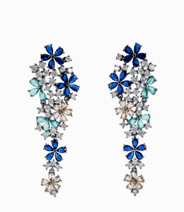Long Flower Earring
