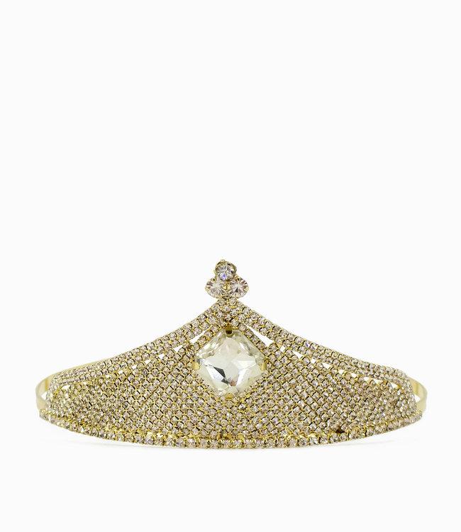 HAND MADE  Crown Crystal  Tiara