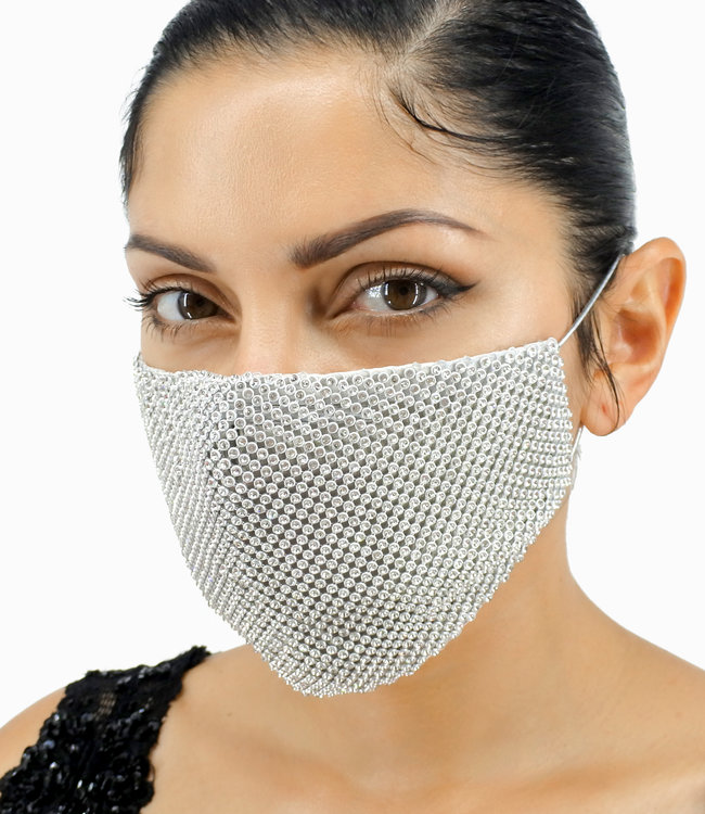 FASHION EMERGENCY Fashion Sequin Mouth Mask