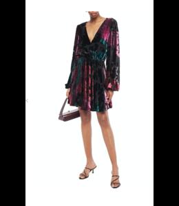 Multicolor Mini Kleid