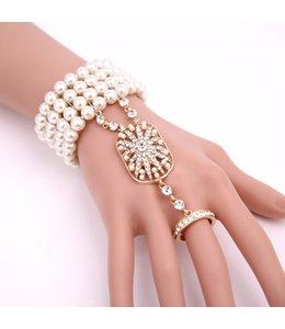 HAND MADE Simulierte Perlen Armband