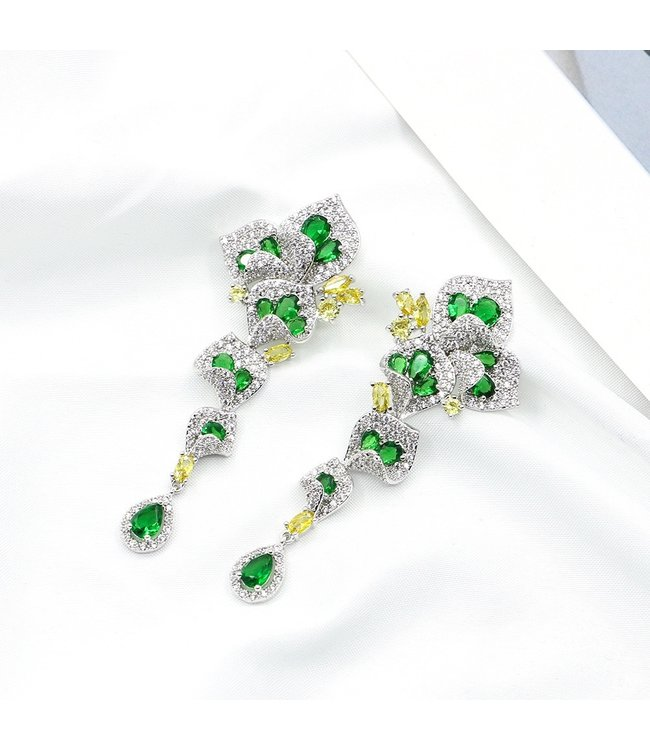 Two Color Gorgeous Fashion Earring