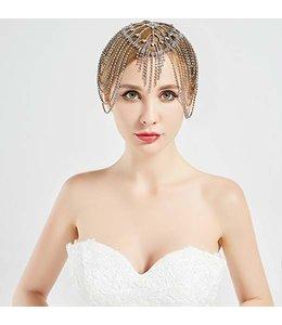 HAND MADE Braut Kopfschmuck aus Strasssteinen