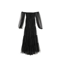 FASHION EMERGENCY Black Tulle Dress