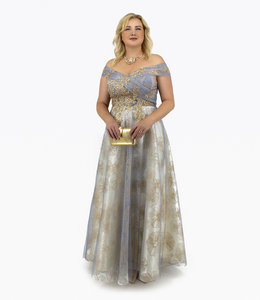 Andrea & Leo Couture Evening Gown