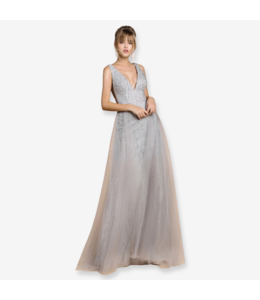 Andrea & Leo Couture Sleeveless Ballerina Gown
