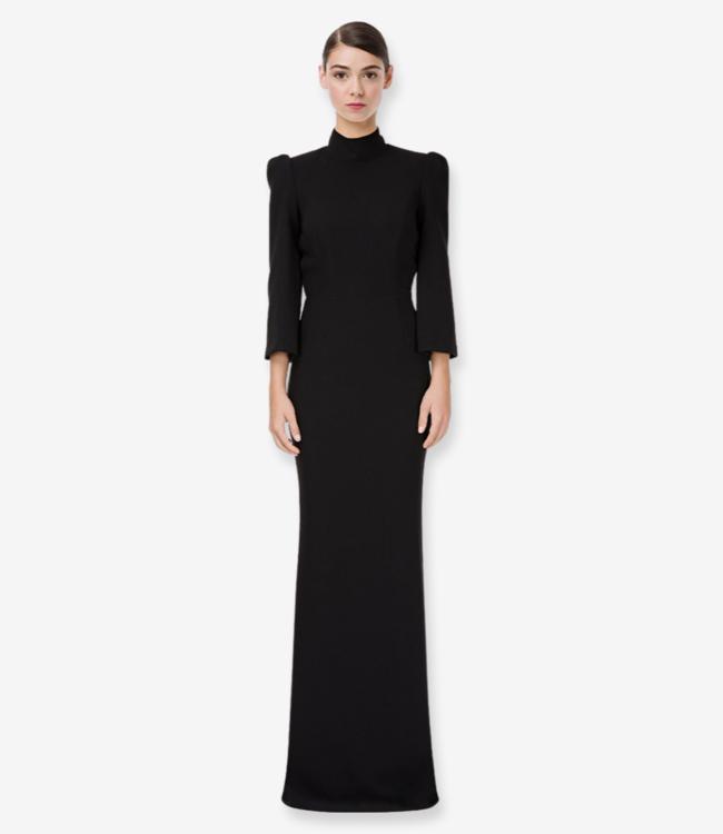 ELISABETTA FRANCHI Elegantes Langes Kleid