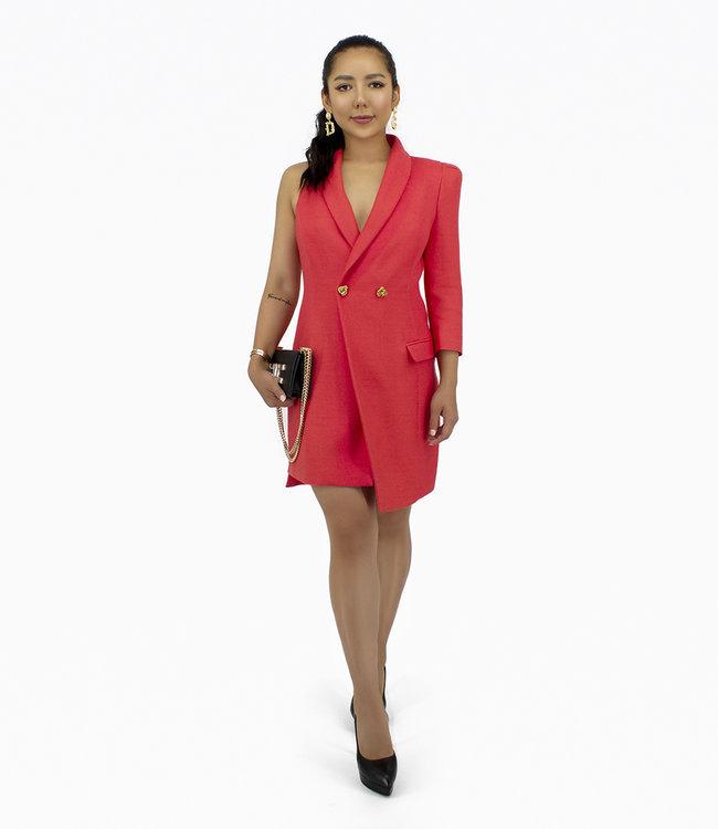 ELISABETTA FRANCHI Asymmetrisches Kleid
