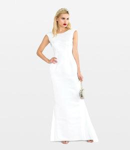 LANA CAPRINA %Open Back Dress