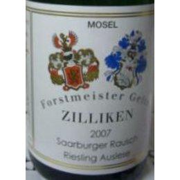 Zilliken Saarburger Rausch Rlg. Auslese Versteigerungswein 2007