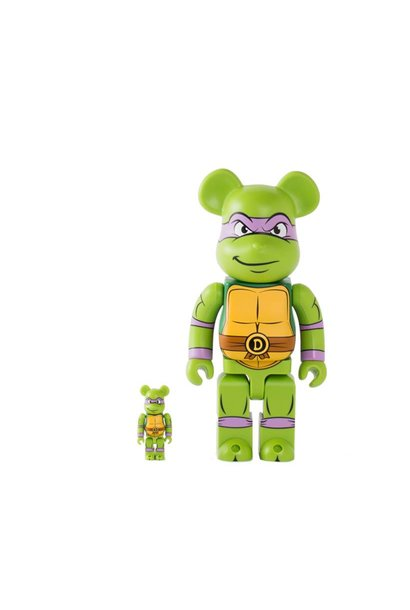 "Donatello 100% & 400% Be@rbrick ""Green"""