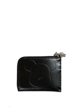 "Medicom Be@Rbrick x Yoshida Porter Leather L Type Wallet ""Black"""