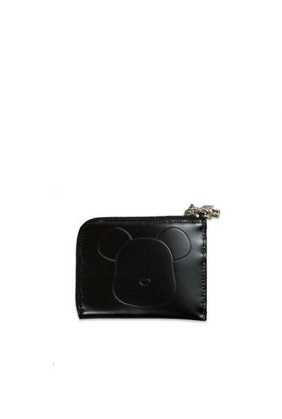 "Be@Rbrick x Yoshida Porter Leather L Type Wallet ""Black"""