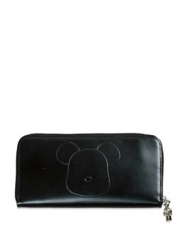 "Medicom Be@Rbrick x Yoshida Porter Leather Long Wallet ""Black"""