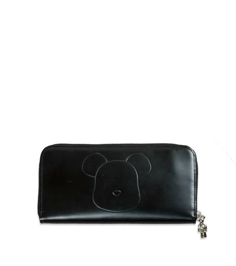 "Be@Rbrick x Yoshida Porter Leather Long Wallet ""Black""-1"