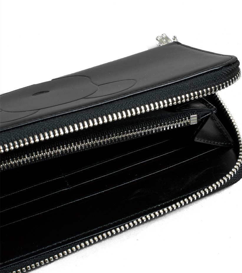 "Be@Rbrick x Yoshida Porter Leather Long Wallet ""Black""-2"