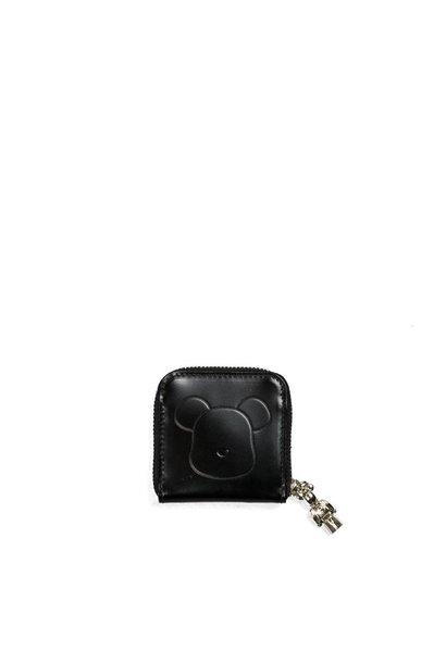 "Be@Rbrick x Yoshida Porter Leather Coin Case ""Black"""