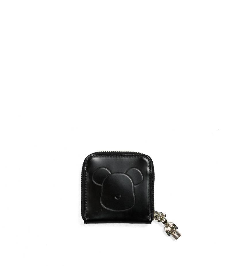 "Be@Rbrick x Yoshida Porter Leather Coin Case ""Black""-1"