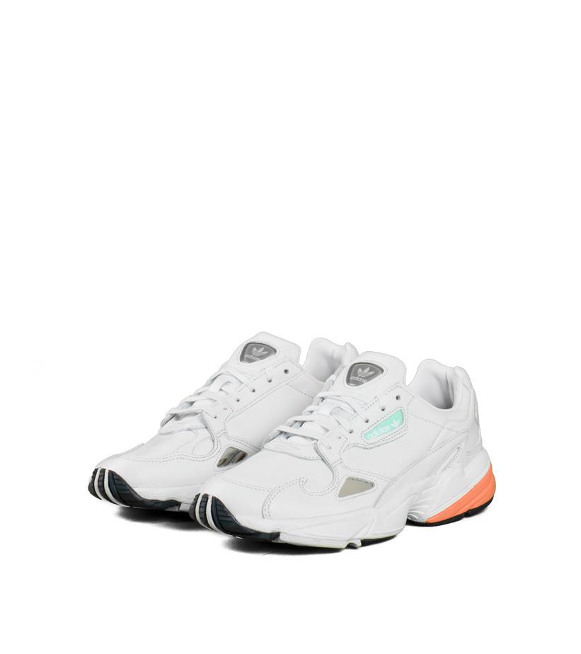 """adidas Falcon W """"White/Orange"""""""
