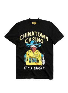 """Chinatown Market Casino Tee """"Black"""""""