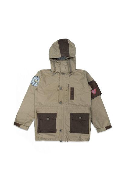 "Military Rain Jacket ""Beige"""