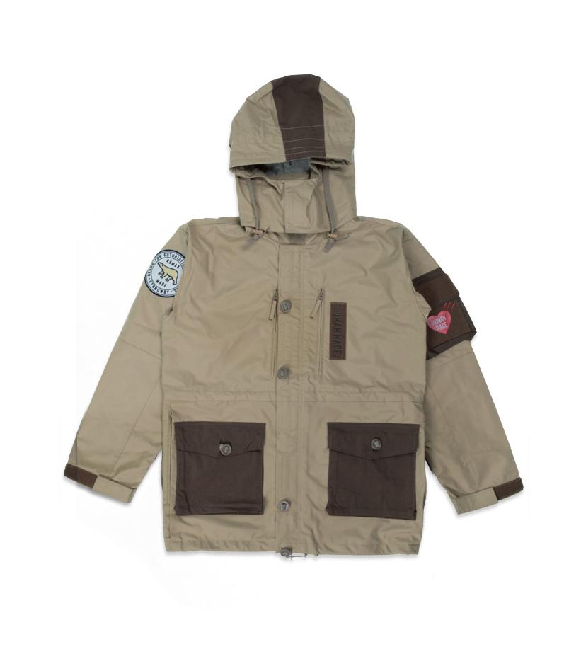 "Military Rain Jacket ""Beige""-1"