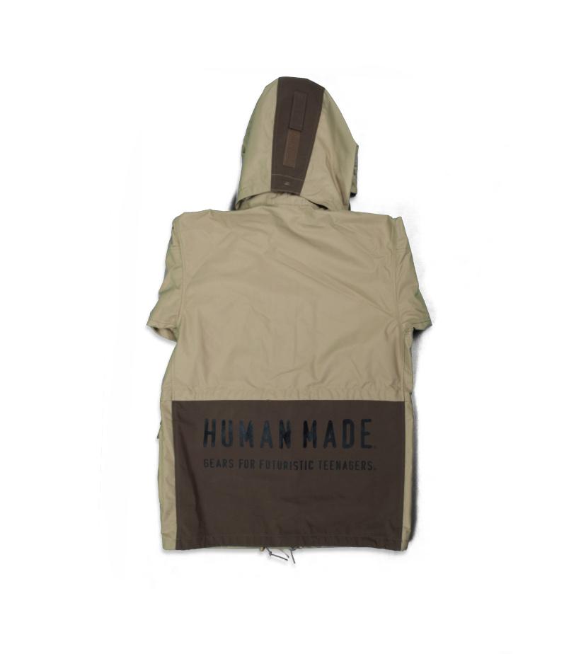 "Military Rain Jacket ""Beige""-2"