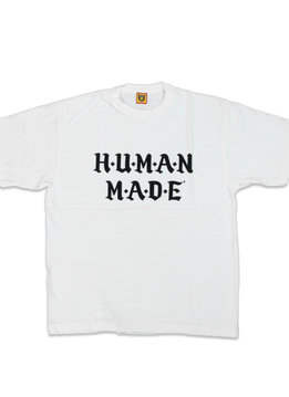 "Human Made Old English Font Tee #1605 ""White"""
