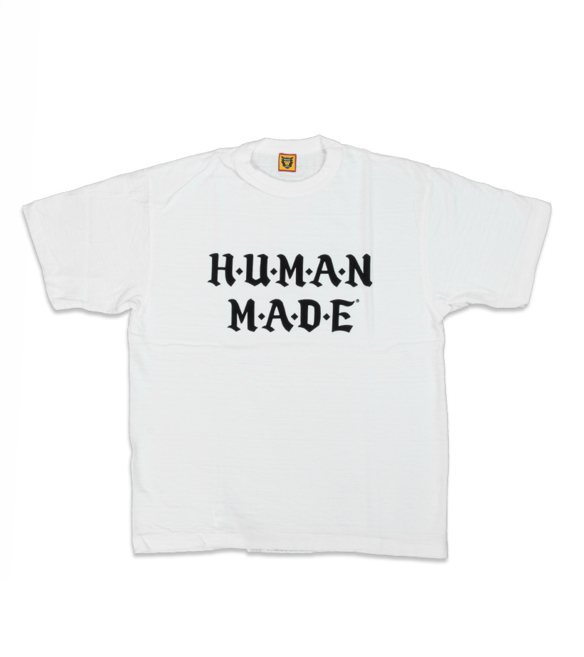 "Human Made Old English Font Tee #1605 ""White"""