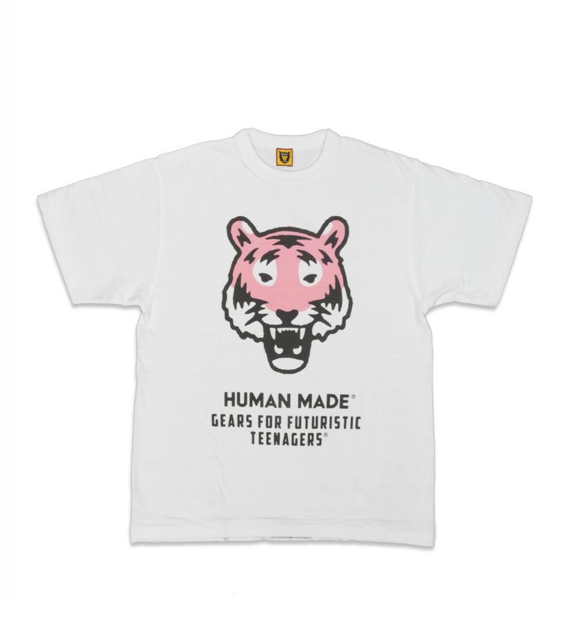 "Human Made Tiger Tee #1603 ""White"""
