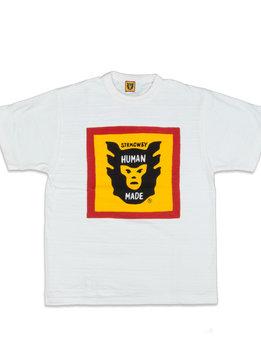 """Human Made HM Logo Tee #1601 """"White"""""""