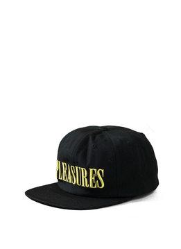 "Pleasures Core Logo Snapback ""Black"""