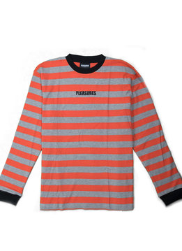 "Pleasures Parade Waffle Knit Sweater ""Orange"""