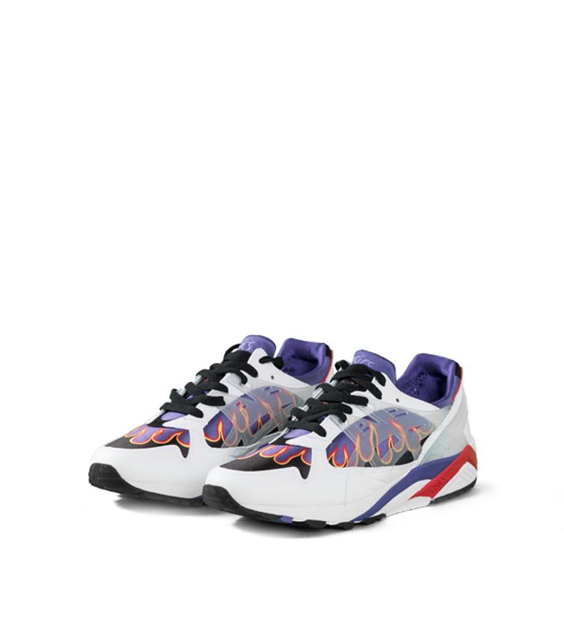 "Asics Gel-Kayano Trainer x Sneakerwolf ""White/Clear"""