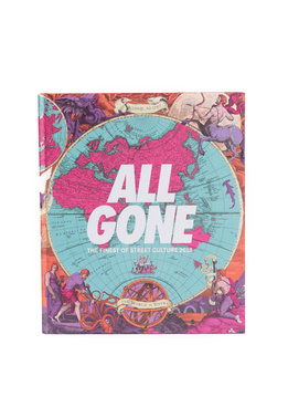 "All Gone All Gone Book 2018 ""World Map"""