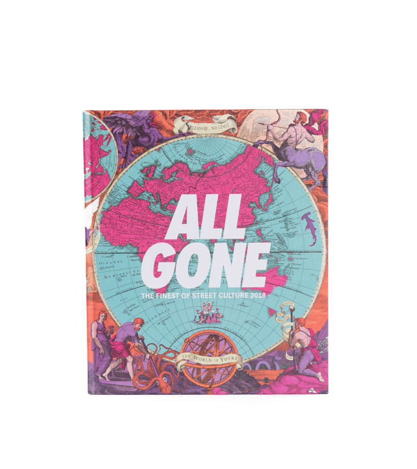 """All Gone All Gone Book 2018 """"World Map"""""""