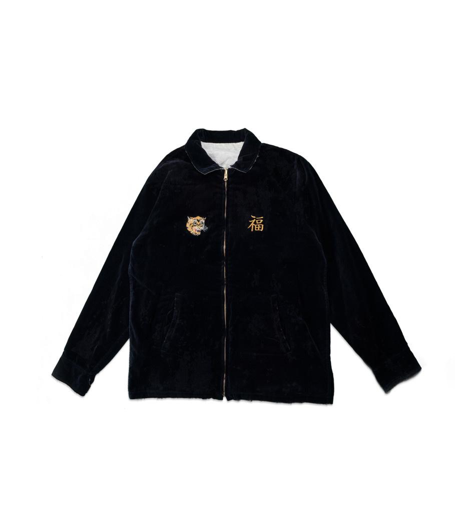 "Reversible Savage Souvenir Jacket ""Navy/White""-1"