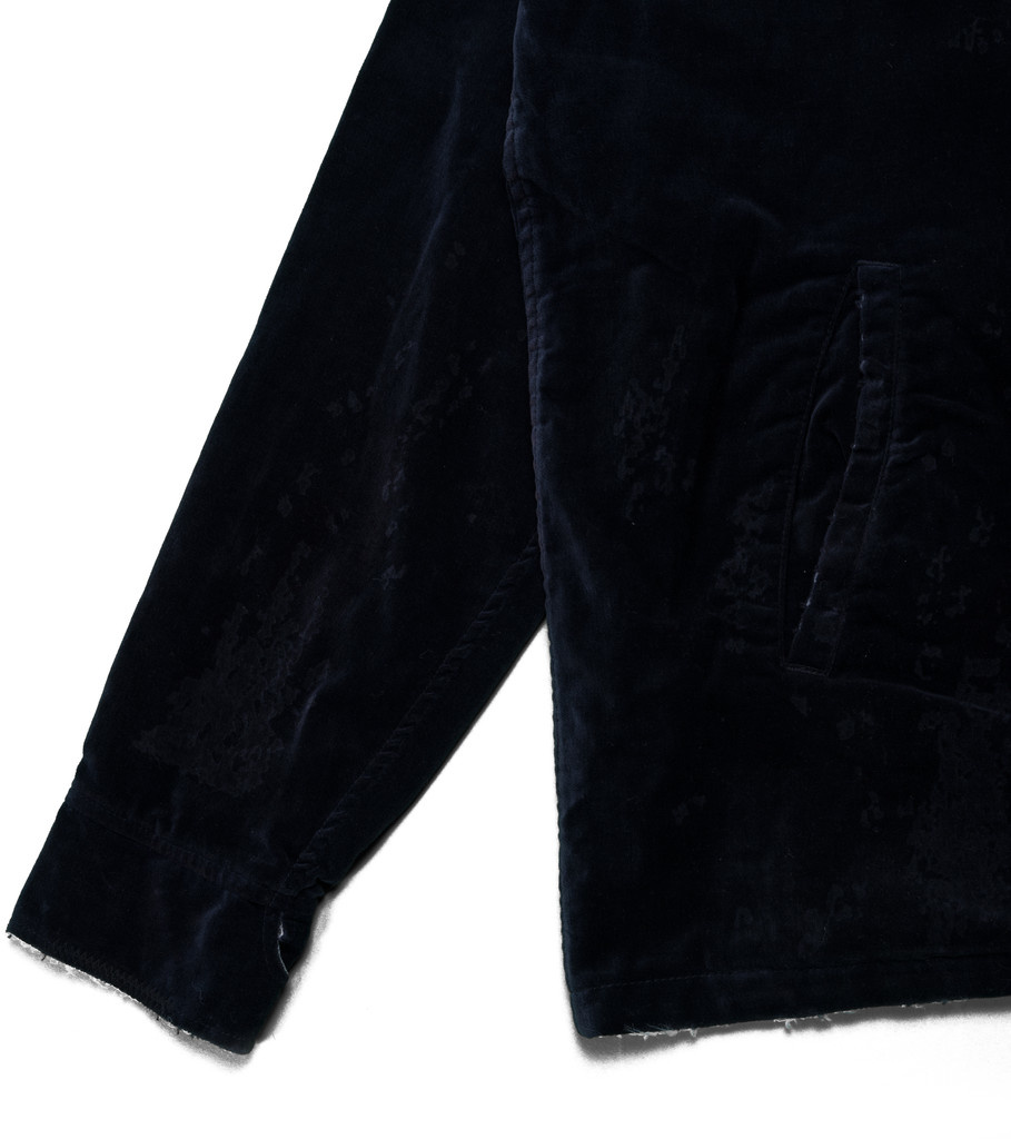 "Neighborhood Reversible Savage Souvenir Jacket ""Navy/White"""