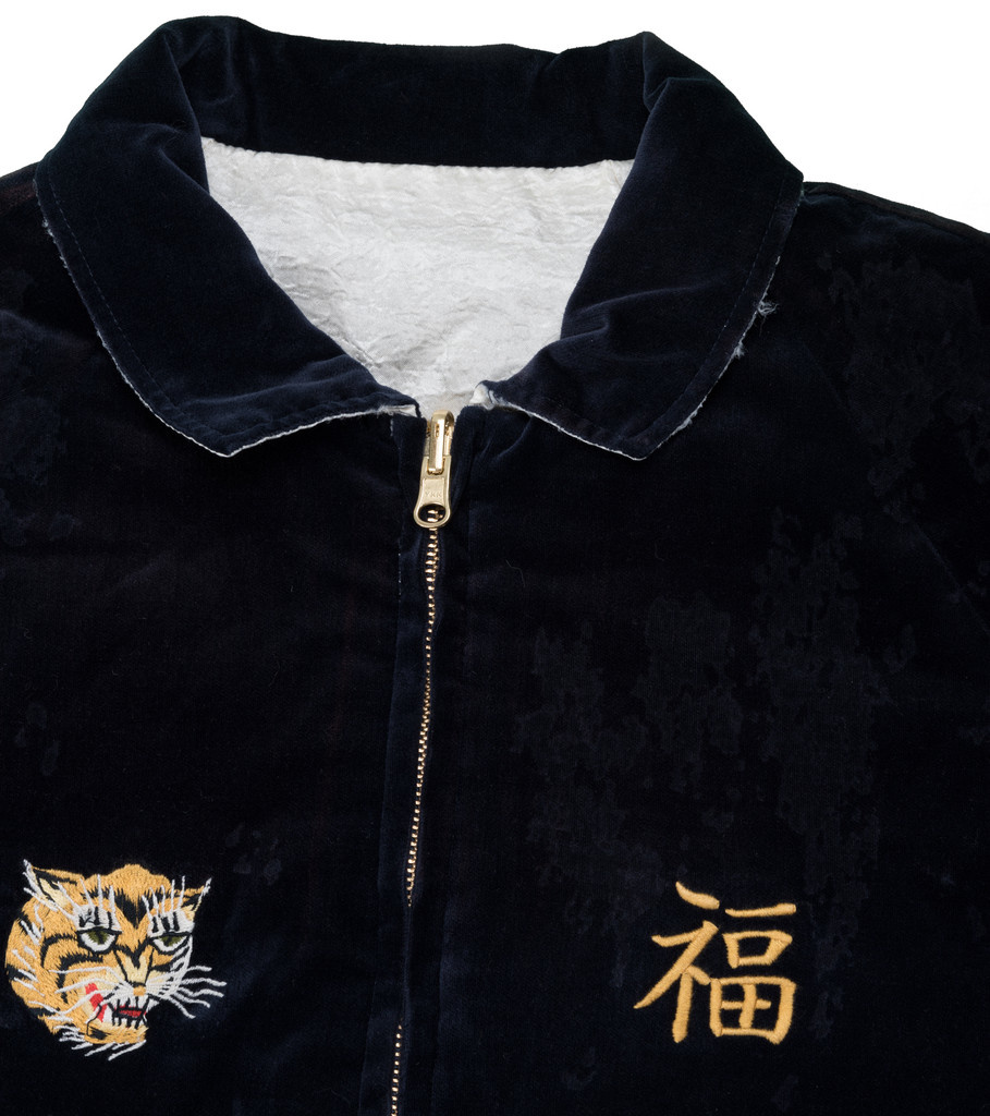 "Reversible Savage Souvenir Jacket ""Navy/White""-6"
