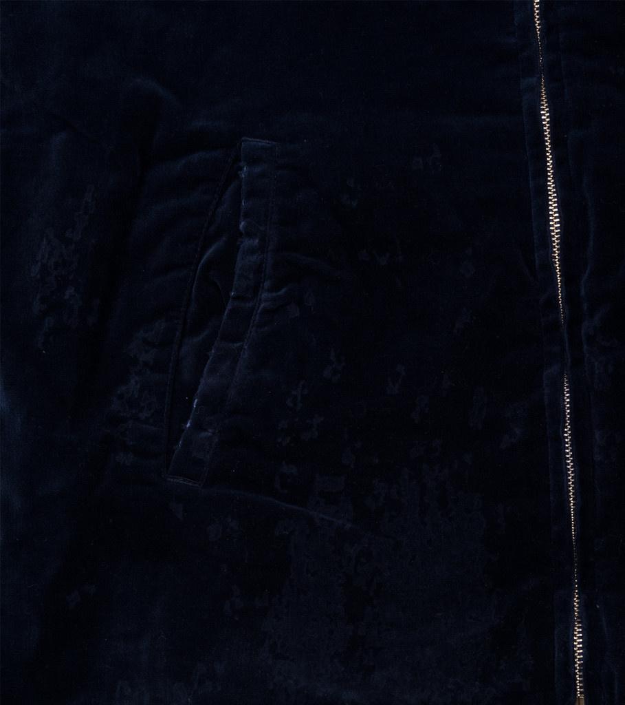 "Reversible Savage Souvenir Jacket ""Navy/White""-7"